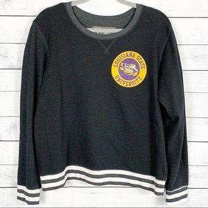 LSU Crewneck Pullover Logo Sweatshirt